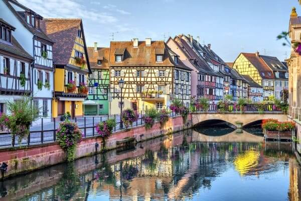 Enxaimel na cidade de Colmar (França) foto: Euro Dicas Turismo
