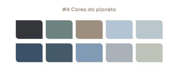 Paleta de Cores: Cores do Planeta (foto: CASACOR)
