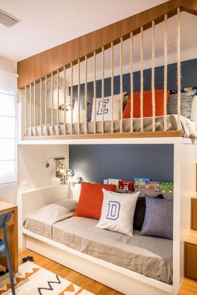 Tipos de camas: beliche infantil (foto: Fernanda Peçanha)