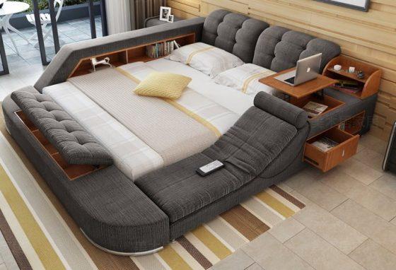 Tipos de camas: cama tecnológica (foto: Blog da Arquitetura)
