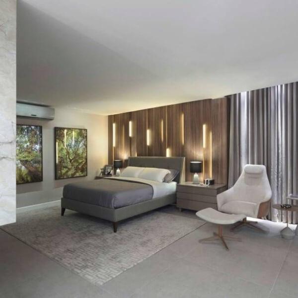 Tipos de camas: cama tradicional com pés (foto: Casacor Brasília 2017)