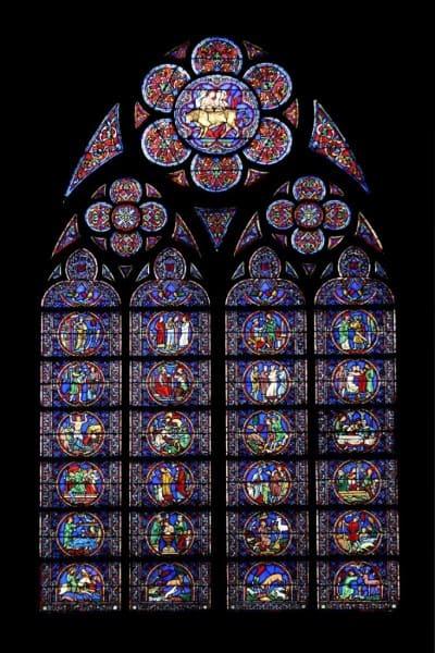 Vitrais Catedral de Notre Dame - França (foto: Embarque na Viagem)