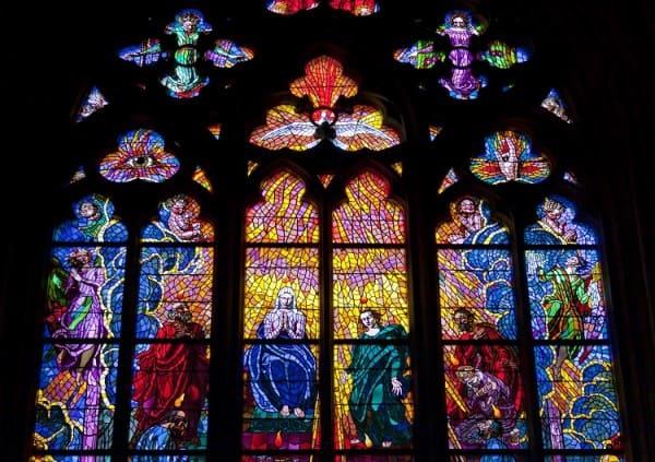 Vitrais: Catedral de São Vito República Checa (foto: Embarque na Viagem)