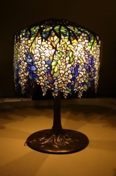 Vitrais: abajur Tiffany (foto: Artrianon)