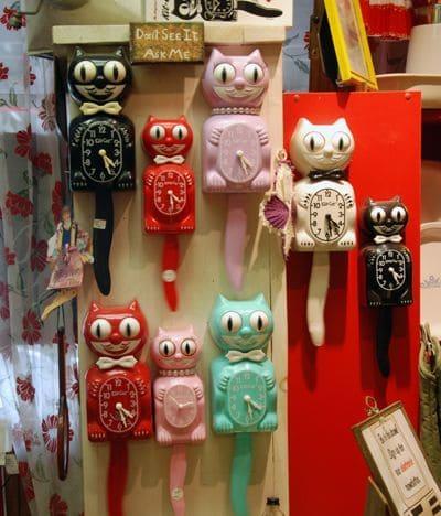 Kitsch: relógios coloridos e divertidos (foto: Pinterest)