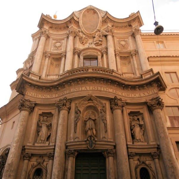 Ornamento no Barroco: Igreja de São Carlos nas Quatro Fontes (foto: ihodl.com)