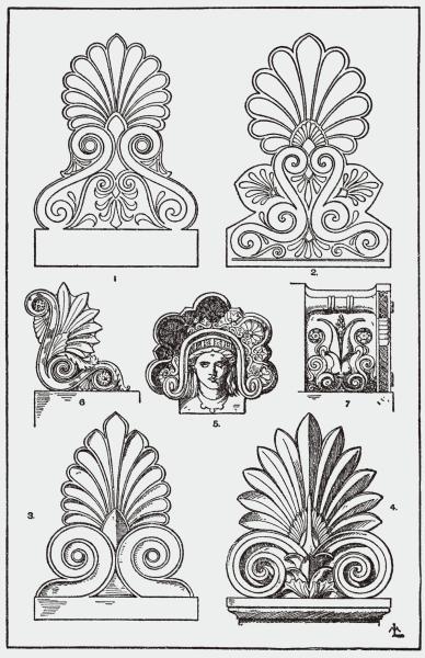Ornamento: palmeta (foto: Wikipédia)