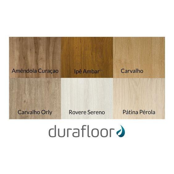Piso clicado: cores de piso laminado - linha new way (foto: Durafloor)