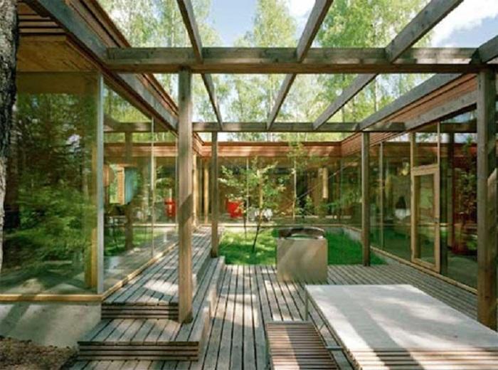 A arquitetura bioclimática é capaz de promover conforto térmico e minimizar consideravelmente o consumo energético do imóvel. Fonte: Cidade Verde