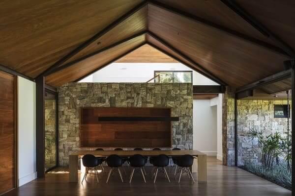 Assoalho de madeira: Casa AS - Architectare (foto: Leonardo Finotti)