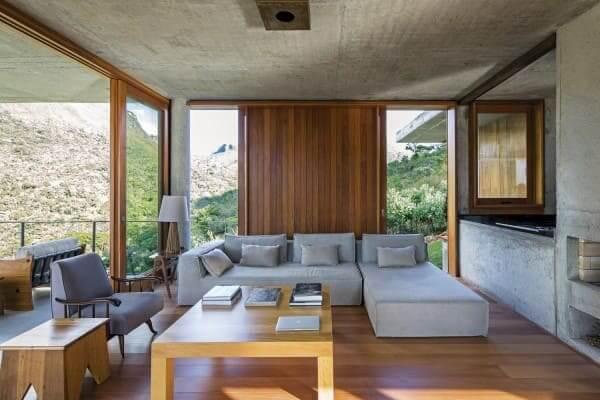 Assoalho de madeira: Casa do Bomba - Sotero Arquitetos (foto: Leonardo Finotti)