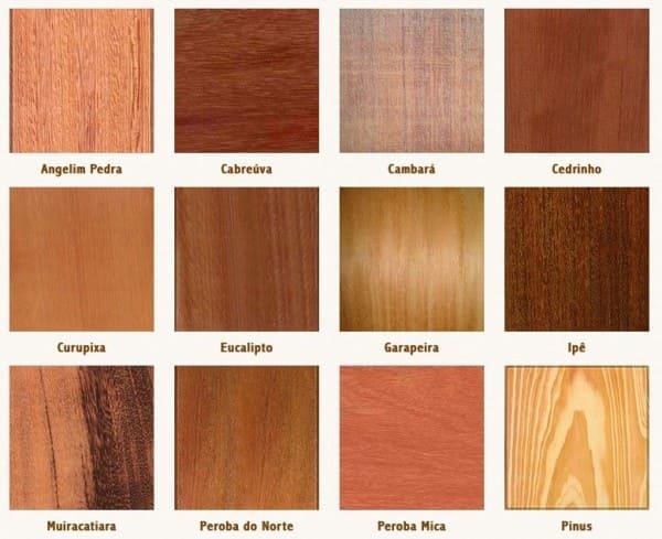 Assoalho de madeira: exemplos de tipos de madeira (foto: Pinterest)
