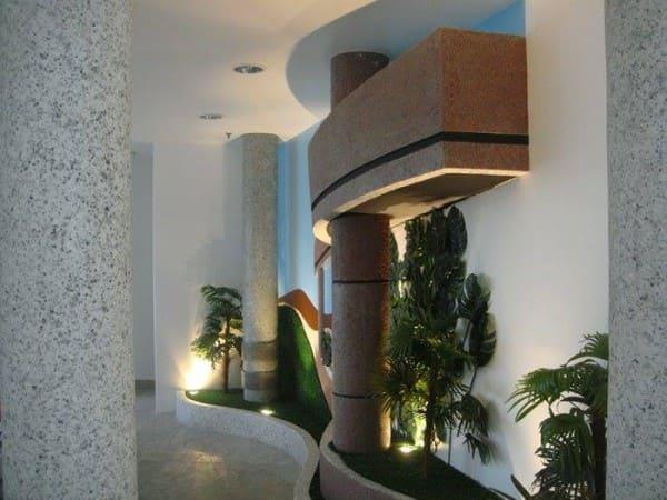 Ecogranito em colunas (foto: FindGlocal)