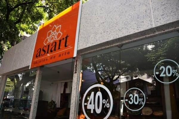 Ecogranito em fachada de loja (foto: FindLocal)