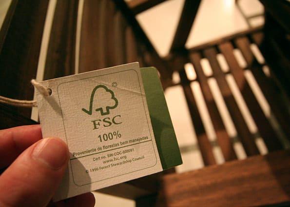 Madeira de reflorestamento: selo FSC (Forest Stewardship Council) - (foto: Móveis de Valor)