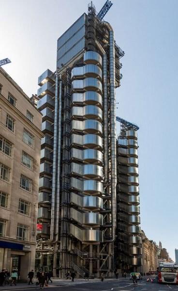 Archigram: The Lloyd's Building (foto: Pinterest)
