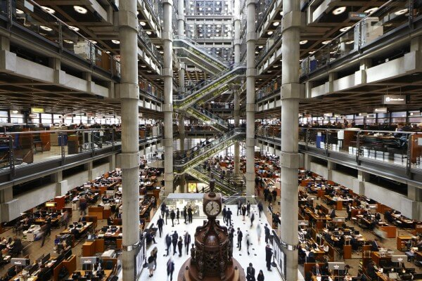The Lloyd's Building - interior (foto: Lloyd of London)