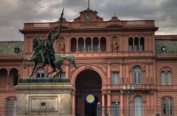 Arquitetura eclética: Casa Rosada, Argentina (foto: Wikipédia)