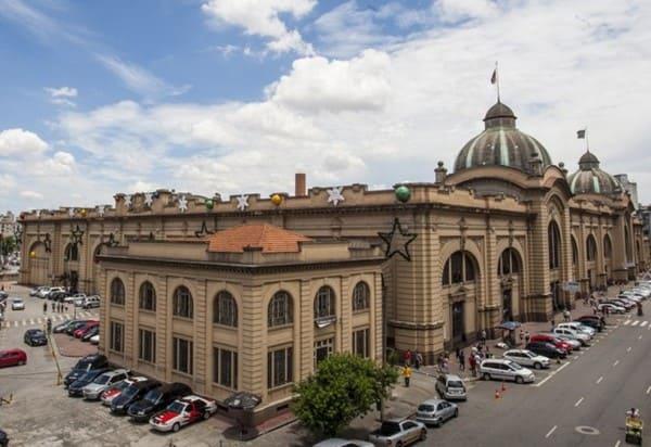 Arquitetura eclética: Mercado Municipal em São Paulo (foto: Pinterest)