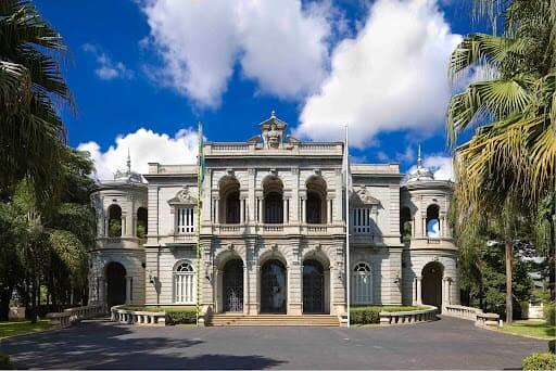 Arquitetura eclética: Palácio da Liberdade em Belo Horizonte (foto: Iepha-MG)