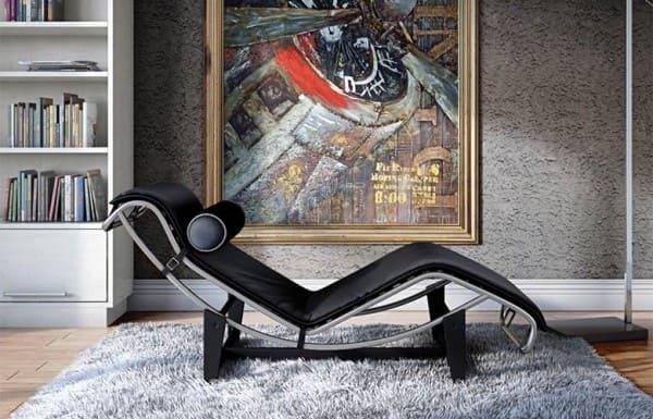 Chaise longue de Le Corbusier (foto: Westwing)