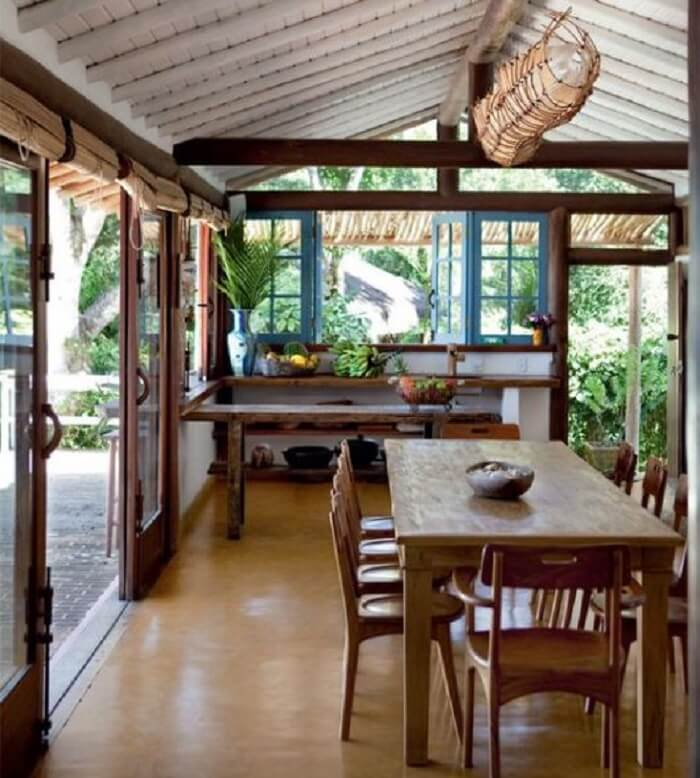 Janela de cozinha de abrir. Fonte: Pinterest