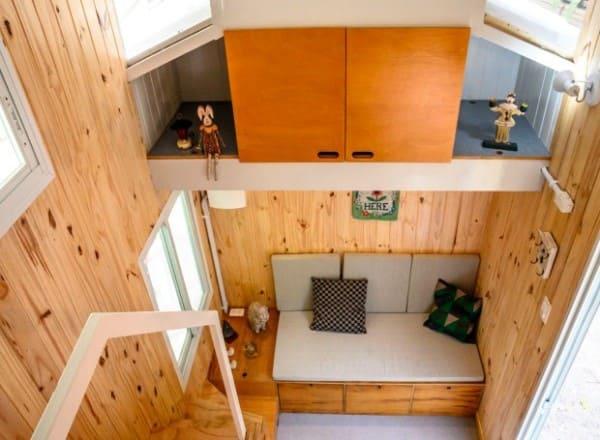 Mini casas: residência com 16 m² (foto: Casa e Jardim)