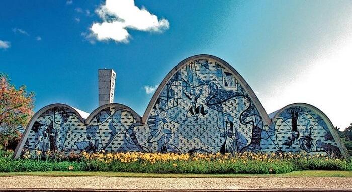 Paisagem cultural: conjunto Moderno da Pampulha. Fonte: PBH