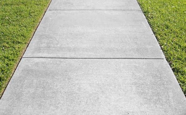 Pedra para Calçada: concreto (foto: Mapa da Obra)