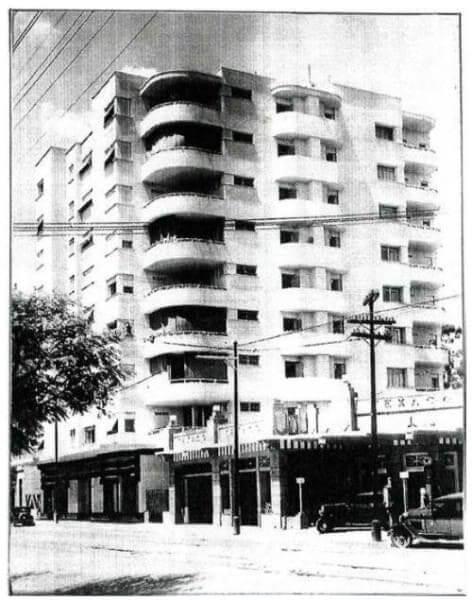 Rino Levi: Edifício Columbus (foto: Pinterest)