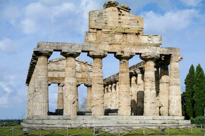 Templo gregos: o templo de Atenas é o mais simples dos mencionados. Foto: Roma Pra Você