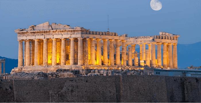 Como eram os templos gregos: o templo de Partenon é o templo grego mais famoso que existe. Foto: Terra Santa Viagens