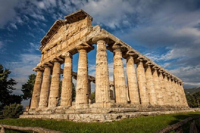 Templos gregos: o templo de Hera é considerado um dos templos mais bem conservados do mundo grego. Foto: Artchist
