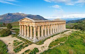 Templos gregos: registro do Templo Dórico. Foto: Cafisu