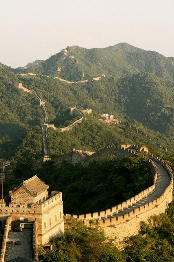 A Muralha da China é a estrutura mais longa já feita pelo homem. Fonte: Flickr