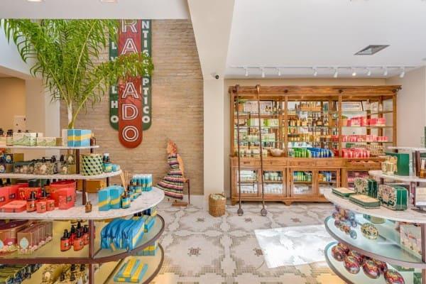 Design Sensorial: loja Granado na Oscar Freire - São Paulo (foto: Granado)