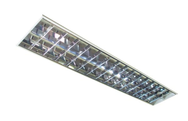 Luminária para forro mineral (foto: Terac Forros e Isolamentos Térmicos Acústicos)